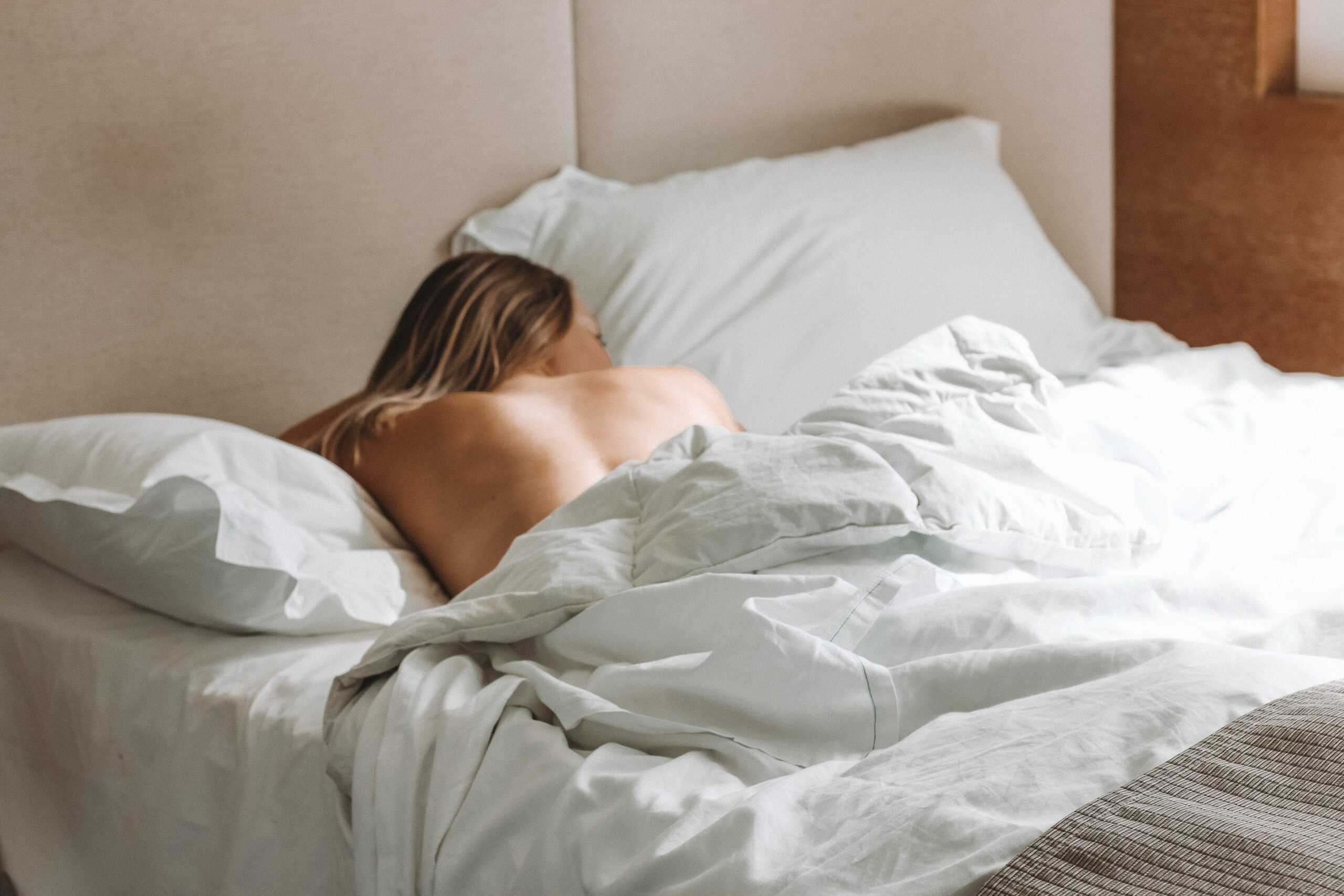 Image of Women on bed