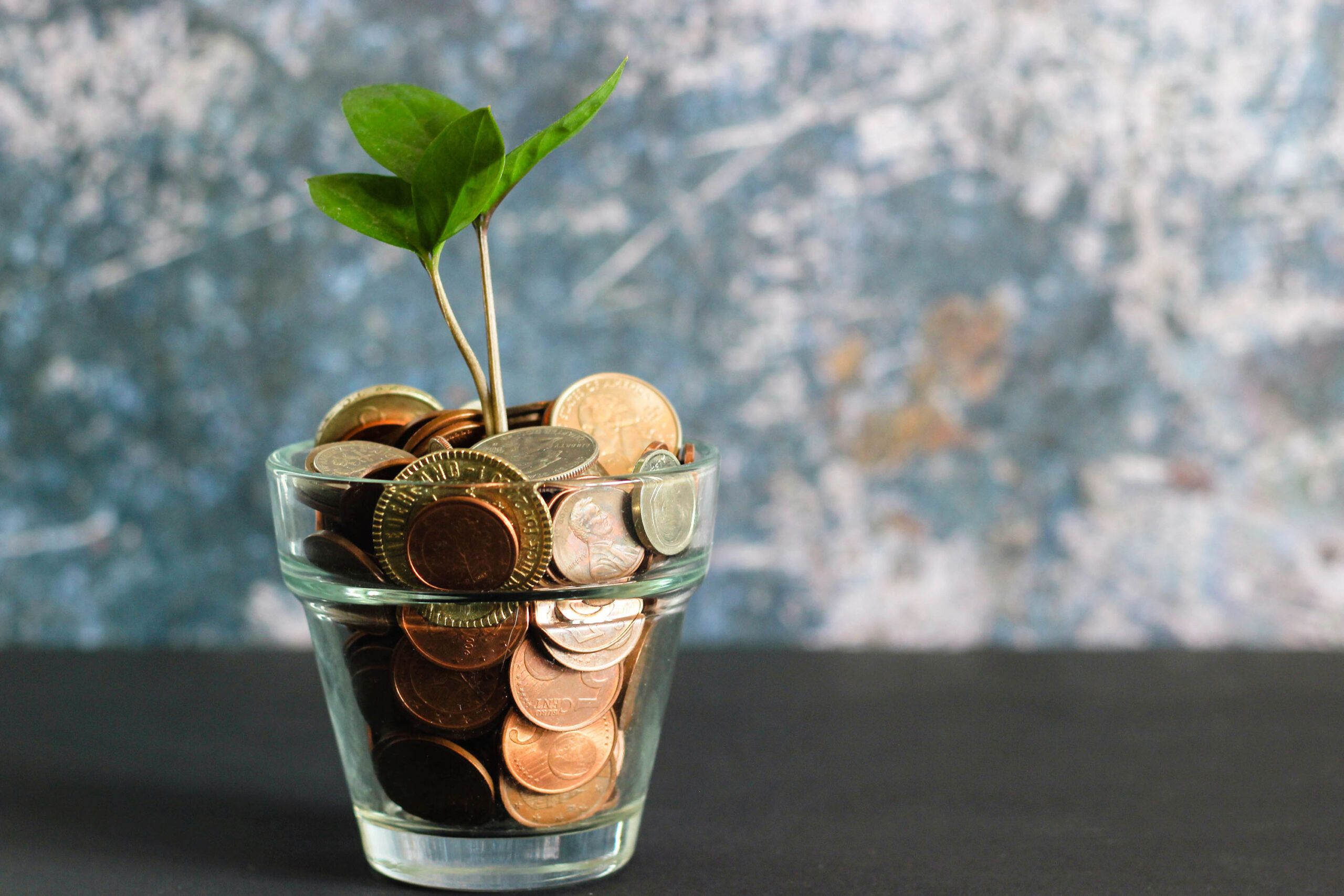 Picture of Money in Jar