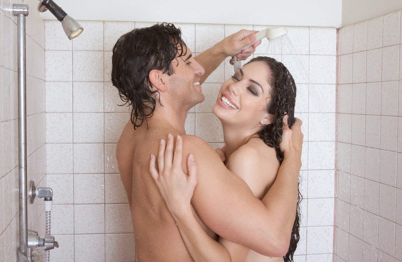 Naked Men And Women Shower Together
