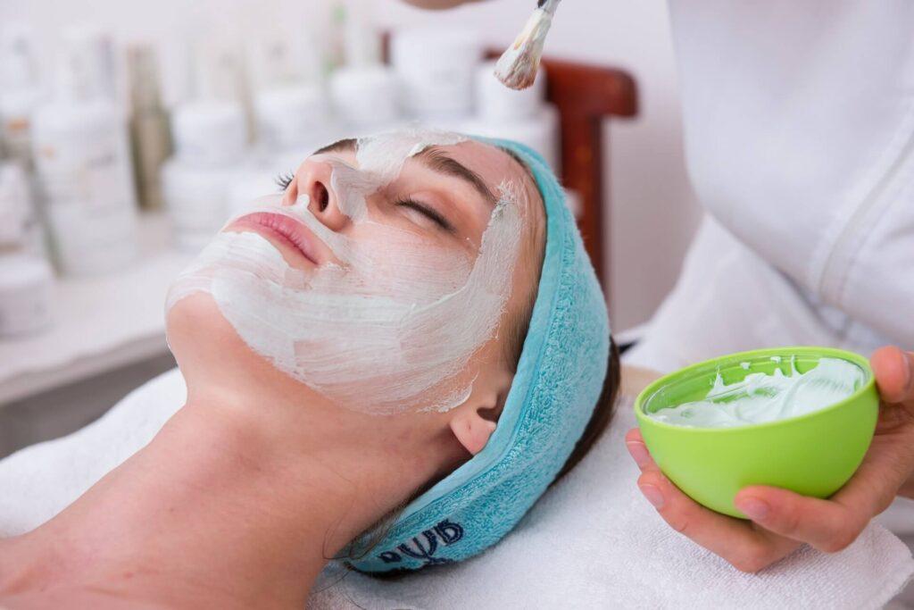 Picture of Women Moisturizing Skin