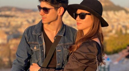 Picture of Adult Couple Elad Michaeli and his girlfriend Shelly in black - Healthy Lifestyle