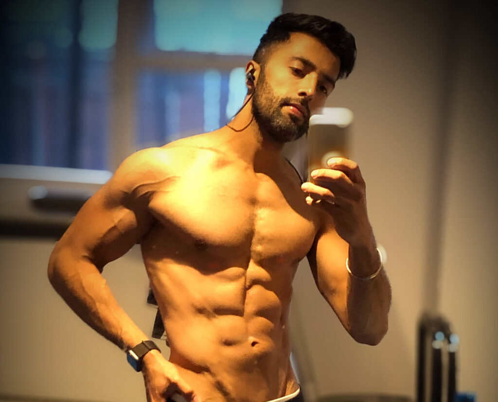 Picture of Sonny Singh Phull without Shirt - Weight Lose Hot Men Six Pack